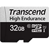 トランセンドジャパン 高耐久 microSDカード 32GB UHS-I U1 Class10 ドライブレコーダー セキュリティカメラ用 SDカード変換アダプタ付 TS32GUSD350V