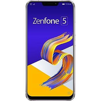 ASUS ZenFone 5 【日本正規代理店品】 6.2インチ / SIMフリースマートフォン/スペースシルバー (6GB/64GB/3,300mAh) ZE620KL-SL64S6/A