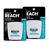 REACH(リーチ) REACHリーチ デンタルフロスワックス 50m 2個セット 50m×2個