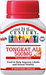 21st Century Tongkat Ali Power, 30 count