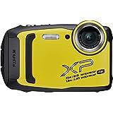 Fujifilm XP140 FinePix Waterproof Digital Camera, Yellow (74363)