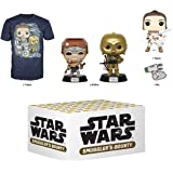 Funko Star Wars Smuggler's Bounty Subscription Box, Adventures of Kijimi, December 2019, XL T-Shirt, Multicolor