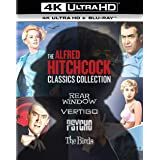 アルフレッド・ヒッチコック クラシックス・コレクション 4K Ultra HD+ブルーレイ[4K ULTRA HD + Blu-ray]