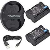 NP-W235 Newmowa Replacement Battery (2 Pack) and Dual USB Charger for Fujifilm NP-W235 and Fujifilm X-T4