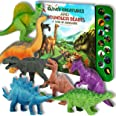 """Li'l-Gen Dinosaur Toys for Boys and Girls 3 Years Old & Up - Realistic Looking 7"""" Dinosaurs, Pack of 12 Animal Dinosaur Figur"""