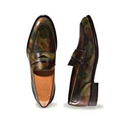 Doucal's Penny Loafer: Camouflage