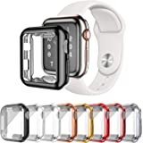 LOBKIN Apple watch ケース アップルウォッチ ケース apple watch series 6/5/4/SE対応 TPU保護ケース 傷防止 耐衝撃 超軽量 全面保護 高透過率 一体型(8PCS-40MM)