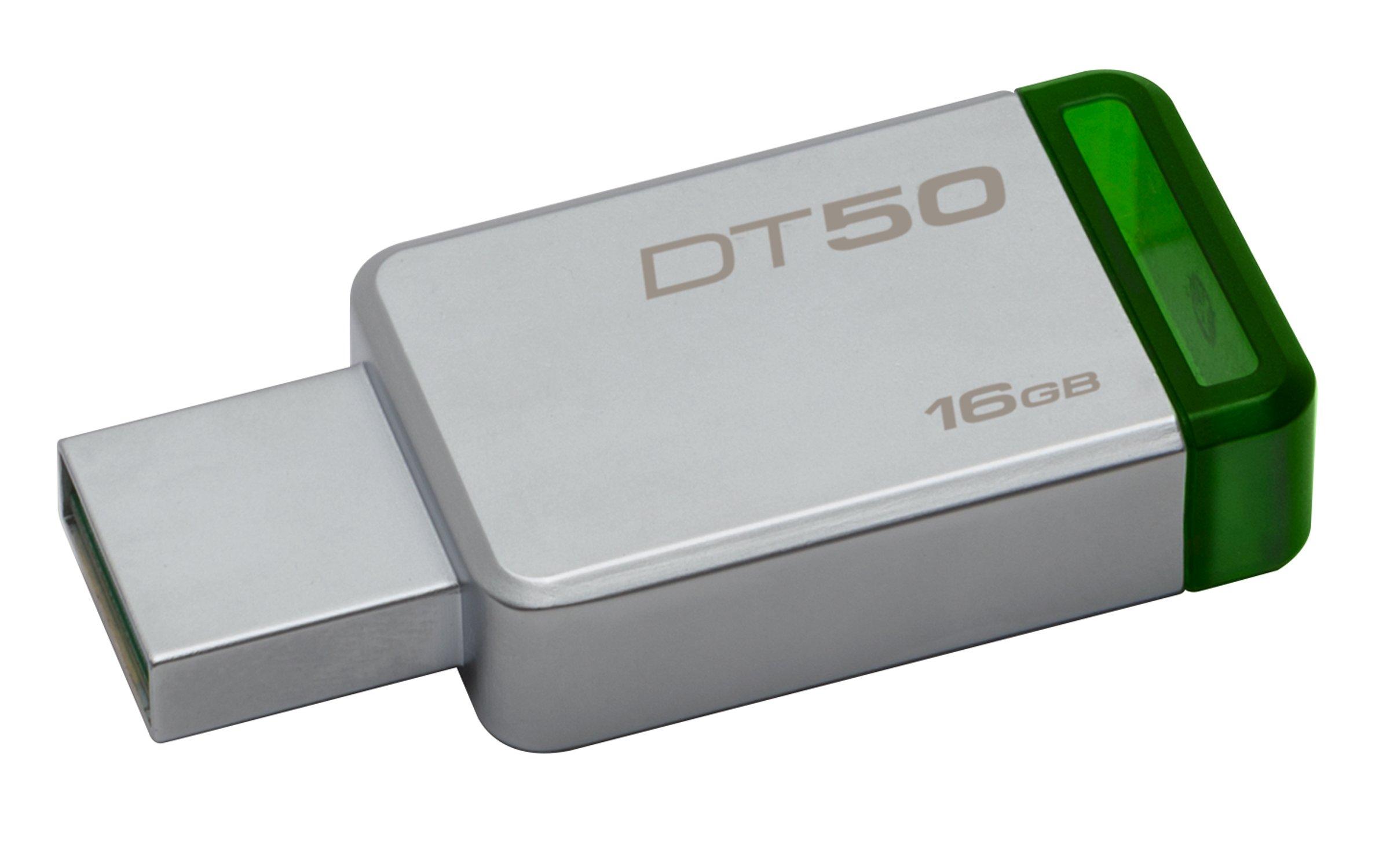 Kingston USBメモリ 16GB USB3.0 DataTraveler 50 DT50/16GB 5年保証