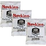 Hawkins B1010 3 Piece Pressure Cooker Safety Valve - B1010-3pcSet