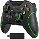 Wireless Controller for Xbox One, 2.4GHZ Game Controllers Compatible with Xbox One S, One X, One Elite, PS3, PC, Android Phon