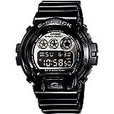 【安心2年保証】 G-SHOCK ジーショック CASIO カシオ DW-6900NB-1 腕時計 メタリックカラーズ ブラック シルバー 黒色・銀色 同型 DW-6900NB-1JF [並行輸入品]
