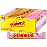 STARBURST All Pink Limited Edition Singles Size Fruit Chew Candy 2.07-Ounce Pack (24-Count Box)