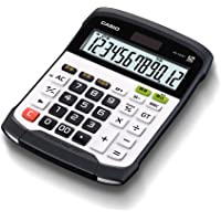 カシオ 防水・防塵電卓 デスクタイプ 12桁 WD-320MT-N