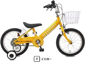 リーズポート(REEDSPORT) 16インチ イエロー 補助輪付き 組み立て式 子供用自転車 幼児自転車