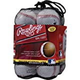 Rawlings Official League Recreational Grade Baseballs, OLB3 (Box of 3 or Bag of 12)