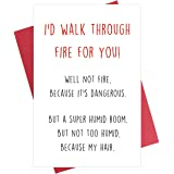 Funny Friendship Card, Best Friend Card, Cute Anniversary Card, Love Card for BFF Bestie Family Member BF