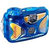 Kodak Sport Single Use Camera, Waterproof up to 15m! 27 Exposures- 8004707, Blue, 2.10 x 4.70 x 5.20 inches