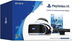 "PlayStation VR ""PlayStation VR WORLDS"" 特典封入版 (PlayStation VR WORLDS ダウンロード版+PS5用カメラアダプター同梱)【Amazon.co.jp限定】オリジナルカスタムテーマ (配信)"