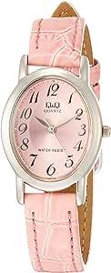 [シチズン Q&Q] 腕時計 VZ89-325 レディース ピンク