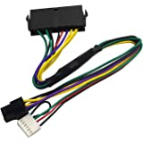 COMeap 24 pin to 6 pin ATX PSU Power Adapter Cable 回送線 互換 HP Z220/Z230 Workstation 13-inch(33cm)