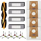 LemonQueen Replacement Parts for Ecovacs Deebot OZMO T8, T5, T8 AIVI Robot Vacuum Cleaner Accessories Kit,Including 1 Main Ro
