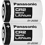 Panasonic CR2 リチウム電池 850mAh [並行輸入品] (2本)