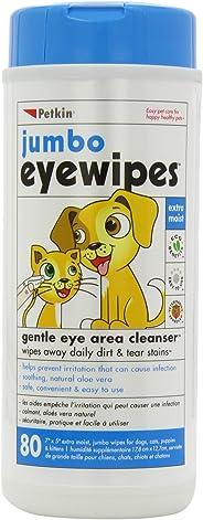 Petkin Eye Wipes, 80 Pack