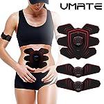 UMATE Abdominal Muscle Trainer Ab Toning Belt,Muscle Toner Ab Belts Core Training Gear Ab Exercise Machine Fitness...
