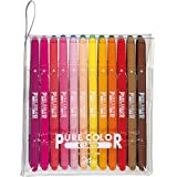 三菱鉛筆 水性ペン ピュアカラー 24色 PW100TPC24C