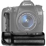 Neewer バッテリーグリップホルダー(BG-E14交換品)LP-E6バッテリーまたは6個AA電池で作業 Canon EOS 70D 80D 90D DSLRカメラに対応