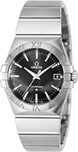 [オメガ] 腕時計 コンステレーション ブラック文字盤 123.10.35.60.01.001 並行輸入品 シルバー