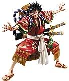 """Portrait.Of.Pirates ワンピース """"KABUKI EDITION"""" モンキー・D・ルフィ 1/8 完成品フィギュア(メガトレショップ、プレミアムバンダイ、Mekke!、東映アニメーションオンラインショップ、麦わらストア限定)"""