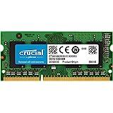 Crucial 8GB (1x8GB) DDR3 SODIMM 1600MHz 1.35V Dual Ranked Single Stick Notebook Laptop Memory RAM