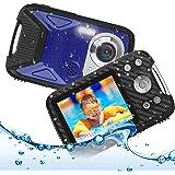 キッズカメラ 子供用 デジタルカメラ 防水 デジカメ 1080P コンパクトカメラ 2.8インチ 子供プレゼント 8倍ズーム/5m水中カメラ/16MP 連写/タイマー撮影/録音/録画/IPS大画面/ストロボ/USB充電/知育 教育おもちゃ 子供/学生