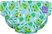 Bambino Mio Reusable Swim Nappy, leap Frog, Extra Large (2+ Years)