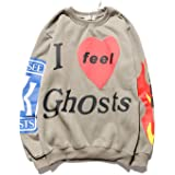Kanye Lucky Me I See Ghosts Sweatshirts 3D Print Fashion Pullover Hoodie Heavyweight Trendy Hip Hop For Men Women