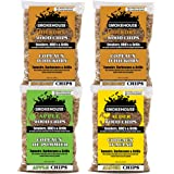 Smokehouse Products Wood Chips 4 Pack Assortment, Brown, One Size (9794-000-0000)