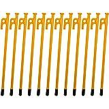 M-STYLE カラーペグ スチール 30cm アウトドア ペグ