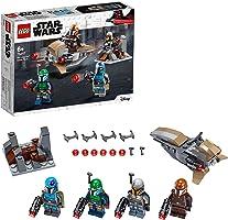 LEGO Star Wars Mandalorian Battle Pack 75267 Mandalorian Shock Troopers and Speeder Bike Building Kit; Great Gift Idea...