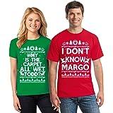 Pekatees Todd Margo Shirt Margo Todd Shirt Christmas Couple Shirts Matching Couples Christmas Shirt Margo and Todd Tshirt