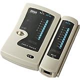 サンワサプライ LANケーブルテスター 結線・断線チェック RJ45コネクタ付きUTP・STPケーブル/RJ-11コネクタモジュラーケーブル対応 LAN-TST3Z