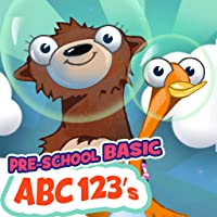 Pre-School ABC's/123's Basic Learning with Bear and Duck
