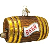 Old World Christmas Ornaments: Beer Keg Glass Blown Ornaments for Christmas Tree