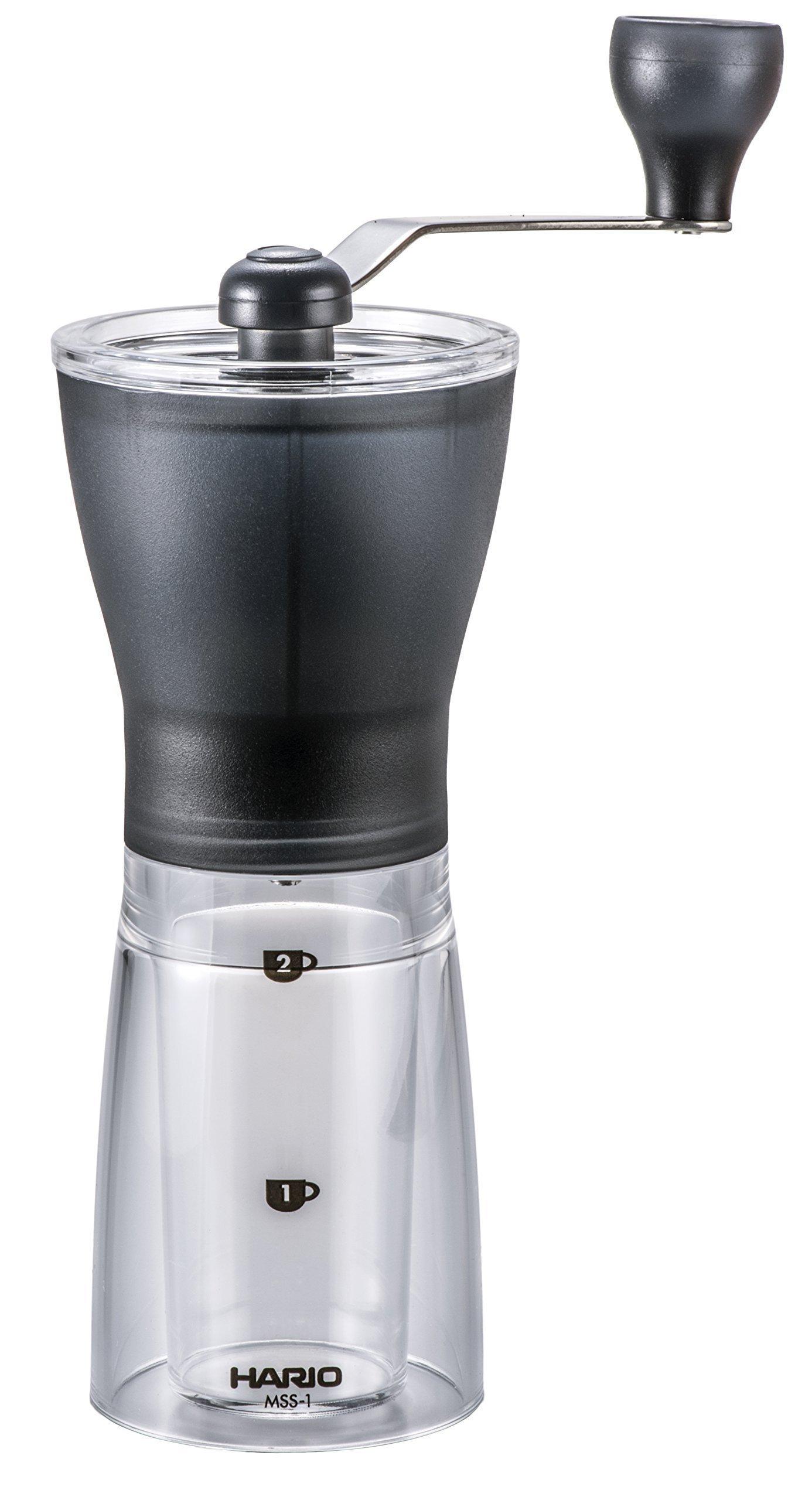 HARIO ( ハリオ ) 手挽き コーヒーミル ・ セラミック スリム MSS-1TB