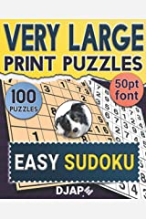 Very Large Print Puzzles: Easy Sudoku ペーパーバック
