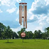 """Noble House Wind Chimes with Big Deep Tone, 40"""" Large Wind Chimes The Engraved Tree of Life, Both for Outdoor Garden,Yard,Pat"""