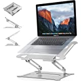 Adjustable Laptop Stand,Suturun Portable Laptop Computer Stand Rriser&Multi-Angle Stand with Heat-Vent to Elevate Laptop Hold
