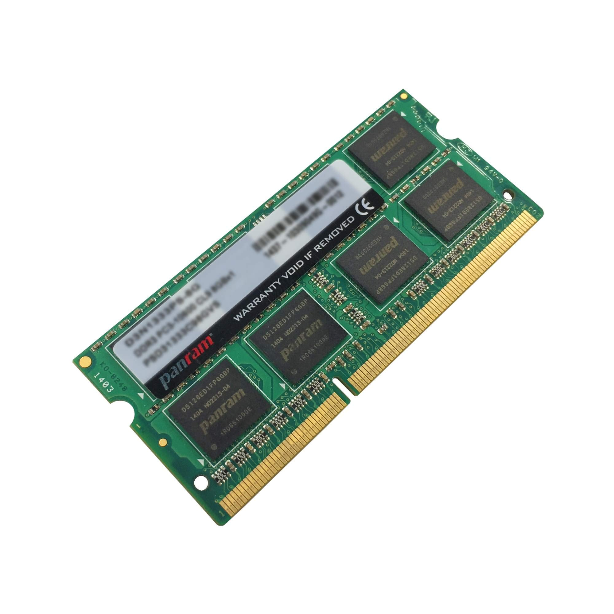 CFD販売 ノートPC用メモリ PCL-12800 DDR3L-1600 4GB×1枚 1.35V対応 SO-DIMM 無期限保証 Panram D3N1600PS-L4G