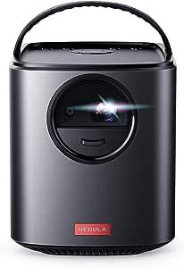 Anker Nebula Mars II(Android搭載モバイルプロジェクター)【デザイン賞受賞 / 300 ANSIルーメン / 最大150インチ投影に対応 / 20W(10Wx2)スピーカー / オートフォーカス機能】