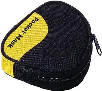 ポケットマスク ソフトポーチ(黒) 82004105 人工呼吸補助具